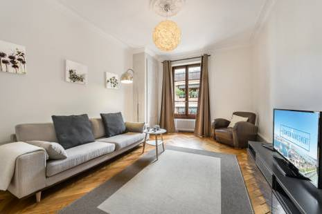 Lovely Haussmanian Apartment near the Lake