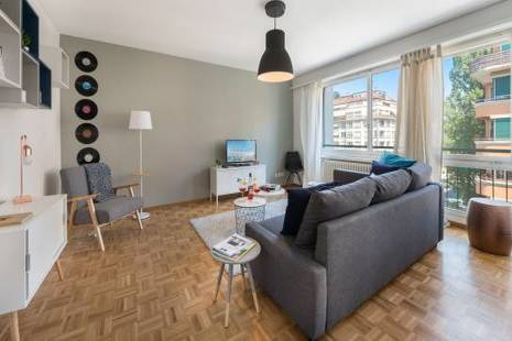 New Furnished Apartment for Music Lovers in Geneva center
