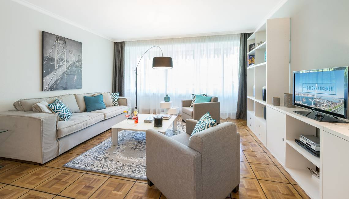Rental New High Standing Furnished Apartment in Champel, Entirely Refurbished - Champel