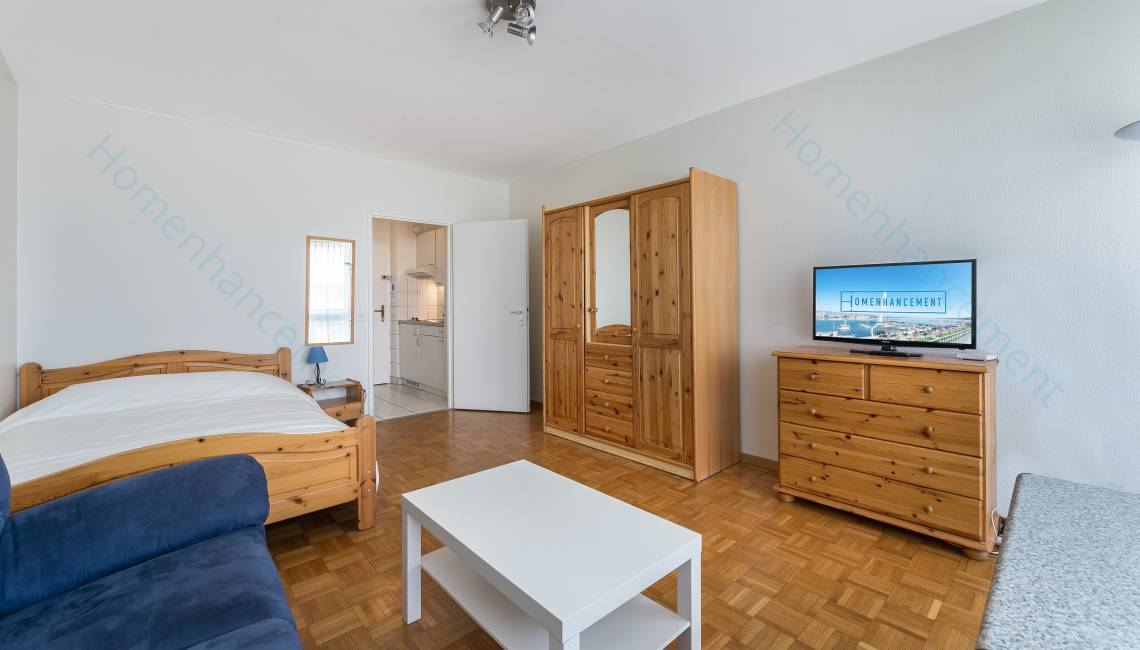 Rental Nice Affordable Furnished Studio Apartment in Geneva Center, for a flexible period of rental - Champel