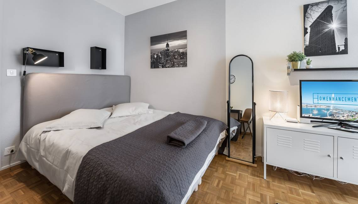 Rental Furnished Apartment Close to Train Station for Short and Long Term Stay in Geneva - Nations