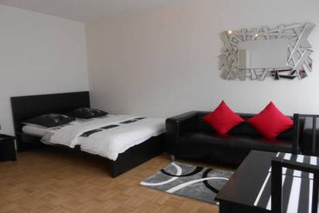 Nice Furnished Studio, in Geneva Center for a flexible rental period