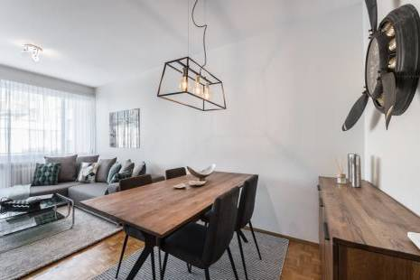 Cosy Furnished and Renovated Apartment, Close to Plainpalais in Geneva Center