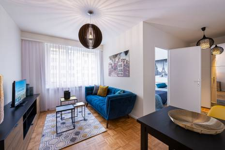 Furnished one bedroom apartment in the heart of Champel