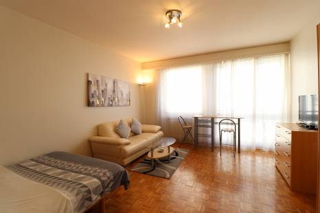 Beautiful Furnished Studio, in Geneva Center for travelers