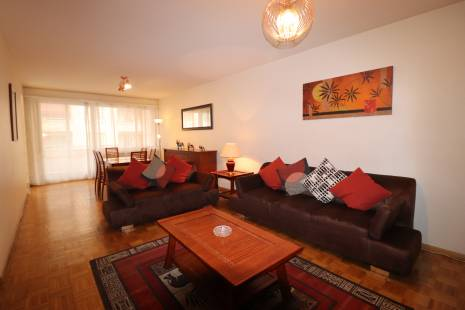 Luminous and furnished 2 bedrooms apartment in Champel