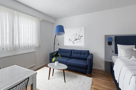 Be the first tenant in a brand new studio ideally located in the heights of Lausanne, in the neighborhood of La Sallaz.