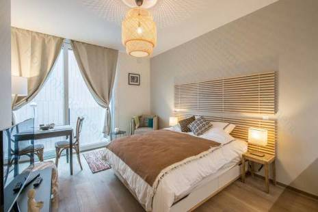 New Furnished Studio Behind Pictet, Close to Plainpalais